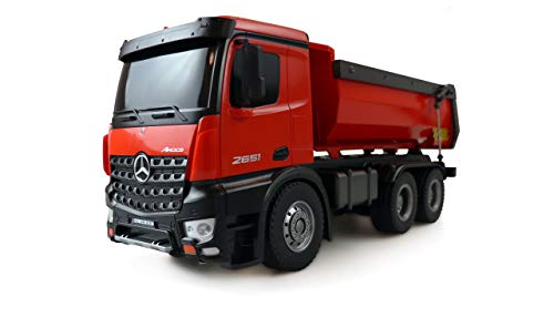 Amewi 22407 Elektro RC Modell Inkl. Akku und Ladegerät Mercedes-Benz Arocs Lizenz LKW Kipper 2,4GHz RTR...