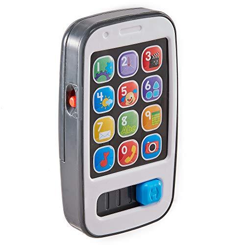 Mattel BHB90 - Fisher-Price Lernspaß Smart Phone, babyspielzeug ab 6 Monaten