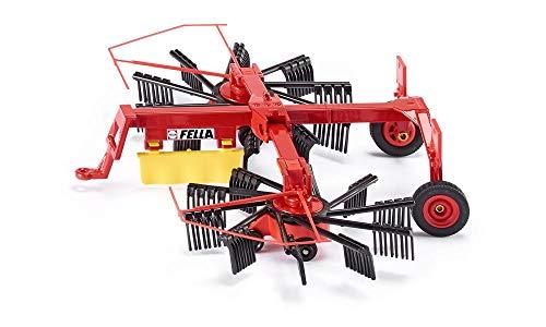 siku 2451, Fella Schwader, 1:32, Metall/Kunststoff, Rot, Bewegliche und abklappbare Kreisel