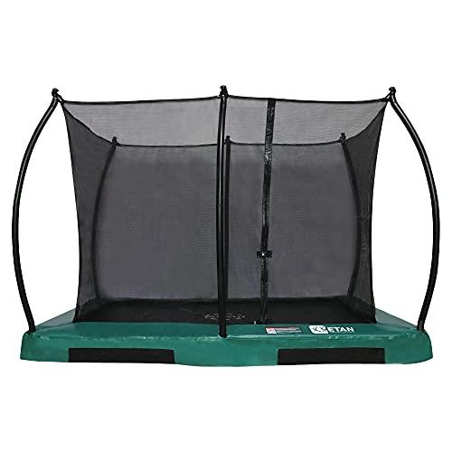 Etan Hi-Flyer Outdoor Boden Trampolin mit Sicherheitsnetz - Inground Gartentrampolin mit UV-beständiges...