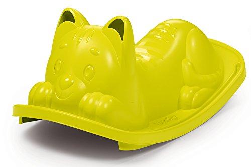 Smoby 830104 - Katzen Wippe spielzeug, grün