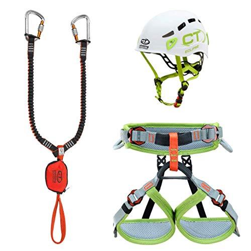 Climbing Technology Junior Eclipse-Classic-k Slider-Ascent, Kit Ferrata Unisex Kinder, Farben Sortiert,...