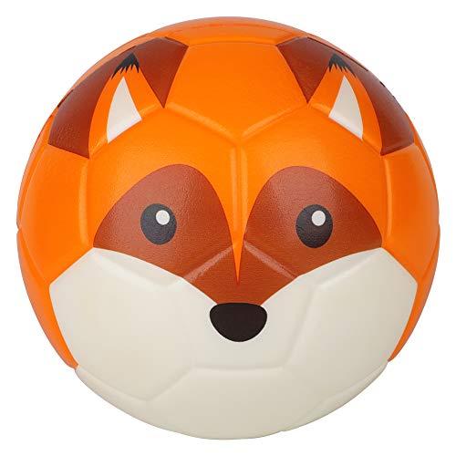 Borpein 15,2cm großer Mini-Fußball, niedliches Tier-Design, weicher Schaumstoffball für Kinder,...