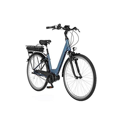 FISCHER E-Bike City CITA 2.0, Elektrofahrrad, saphirblau matt, 28 Zoll, RH 44 cm, Mittelmotor 50 Nm, 36 V...