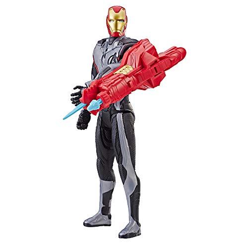 Avengers Endgame Titan Hero Power FX Iron Man, 30 cm große Actionfigur für Kinder ab 4 Jahren