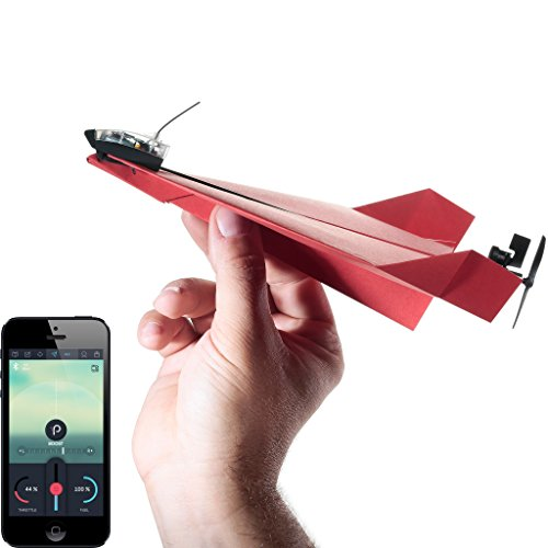 PowerUP 3.0: Smartphone gesteuerter Elektrobausatz für Papierflugzeuge