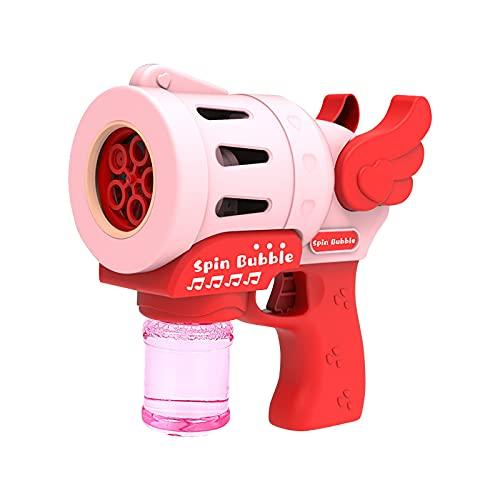 OPALLEY Seifenblasenpistole Seifenblasen Pistole Bubble Maschine Pistole Seifenblasenmaschine...