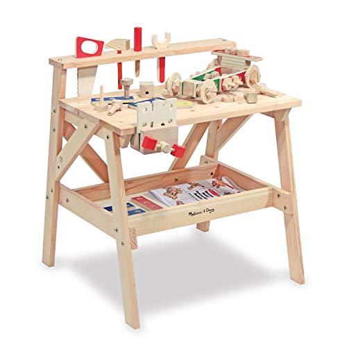 Melissa & Doug Werkbank aus Holz für große Projekte