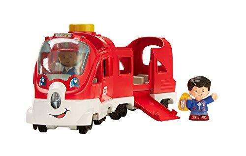 Fisher-Price FKW86 Little People Zug interaktive Eisenbahn mit Licht Geräuschen und Liedern, ab 12...
