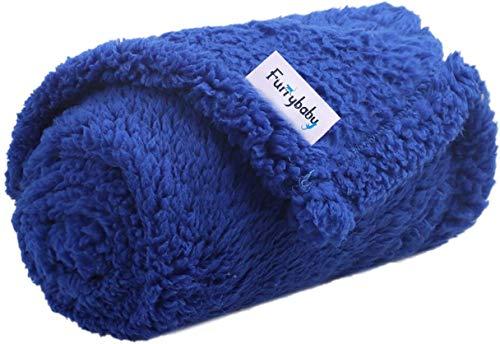 furrybaby Hundedecke und Katzendecke, Weiche und Warme Haustierdecke, Bett Decken für Hunde und Katze (M...