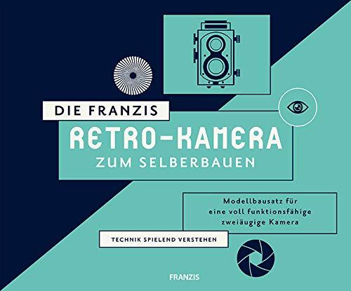 Die FRANZIS Retro-Kamera zum Selberbauen | Zum Zusammenstecken und Verschrauben, ohne Kleben! | Ab 14...