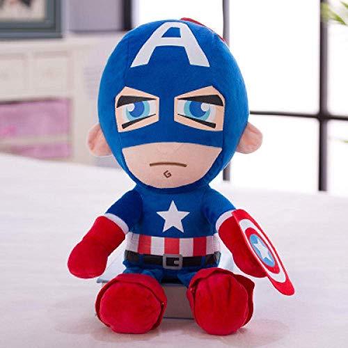 JIAL R 25Cm füllte Plüsch-Spielzeug-Superheld Captain America Iron Man Spiderman weiche Nette Puppen...