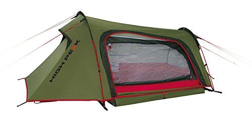 High Peak Leichtgewicht Sparrow, Campingzelt, Trekkingzelt für 2 Personen, Tunnelzelt nur 2,8 kg,...