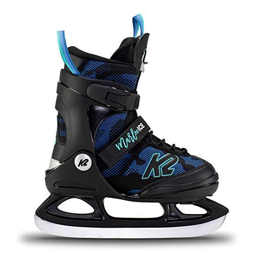 K2 Skates Mädchen Schlittschuhe Marlee Ice — camo - Blue — EU: 35 - 40 (UK: 3 - 7 / US: 4 - 8) —...