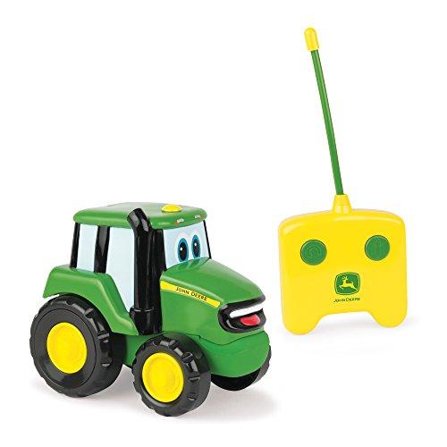 Spielzeugtraktor John Deere 'Johnny Traktor' in grün, ferngesteuerter Kindertrecker aus Kunststoff, ab...