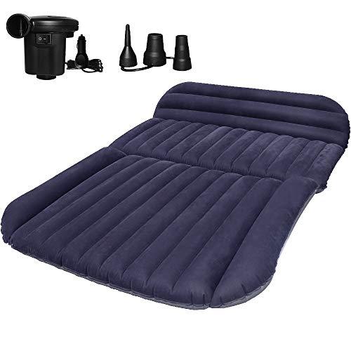 QDH SUV Auto Luftmatratzen-Camping Aufblasbare Matratze-Aufblasbares Bett für den Auto-Rücksitz-Dickere...