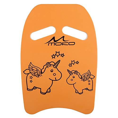 MoKo Kinder Schwimmbrett, Schwimmen Kickboard Trainingsausrüstung mit Griffen Schwimmhilfe Cartoon Swim...