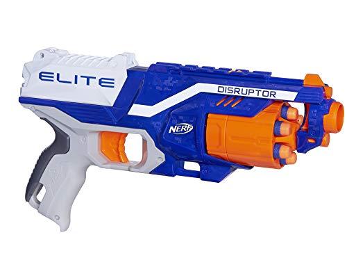 Hasbro B9837EU40 B9837EU4 - N-Strike Elite Disruptor Spielzeugblaster, mit Trommelmagazin