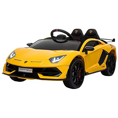 HOMCOM Kinderauto Kinderfahrzeug für 3-8 Jahre Elektroauto mit Fernsteuerung MP3/USB Licht Musik...