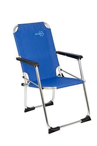 Bo-Camp Copa Rio Kids - Kinder Klapp-Stuhl Aluminium blau 43x45x75cm Belastbarkeit 80kg
