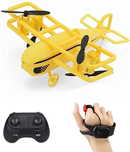 CYLYFFSFC 2,4G Mini-Vierachsen-Drohne für Anfänger mit ferngesteuertem Kleinflugzeug-Spielzeug mit...