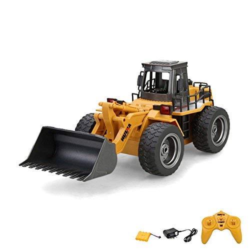 2.4GHz RC ferngesteuerter Bagger Baustellen-Fahrzeug, Modell mit viele Metallbauteile, schwenkbarer...
