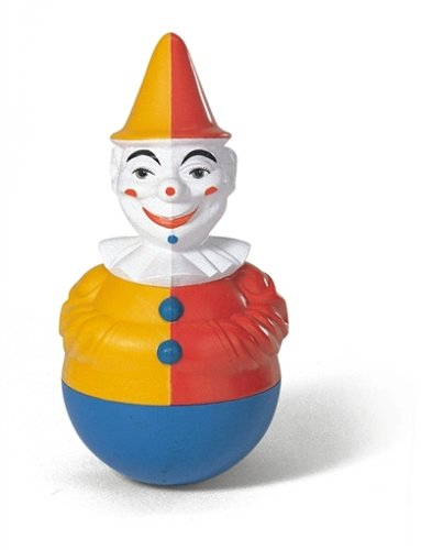 Rolly Toys 221141 Stand Up Jingling Clown