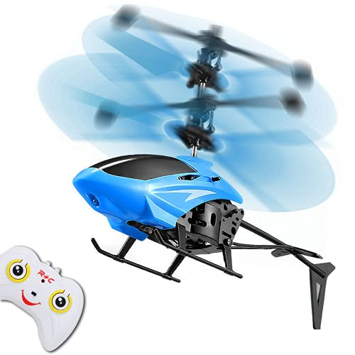 Ferngesteuerter Hubschrauber,Mini Hubschrauber mit LED Kreisel,Ferngesteuert Helikopter,Indoor-Spielzeug...