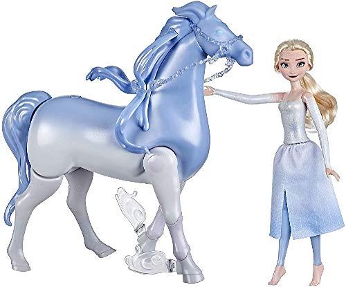 Hasbro E6716 Disneys Die Eiskönigin 2 Wasserzauber und Landspaß ELSA & Nokk, Spielzeug für Kinder,...