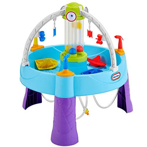 Little Tikes Fun Zone Battle Splash Wassertisch - Outdoor Gartenspiel - Fördert aktives und...