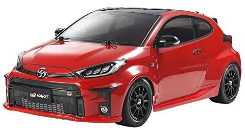 TAMIYA 58684 1:10 Toyota G.R. Yaris (M05), ferngesteuertes Auto, RC Fahrzeug, Modellbau, Bausatz zum...