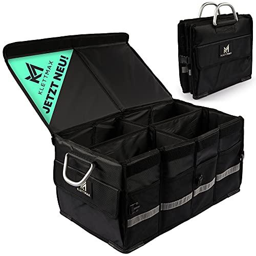Klettmax® Kofferraumtasche | Auto Organizer für jeden Kofferraum | Autotasche für einen sicheren &...