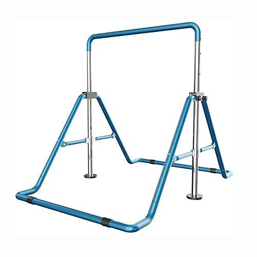 SGSG Faltbare Gymnastik Horizontalstangen, höhenverstellbare Gymnastik Reckstange Home Erweiterbare...
