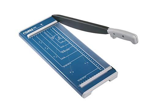 Dahle 502 Papierschneider (Bis DIN A4, 8 Blatt Schneidleistung) blau