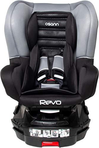 Osann Revo SP Reboarder Kindersitz Isofix Gruppe 0+/1 (0-18 kg) 360 Grad Luxe Gris