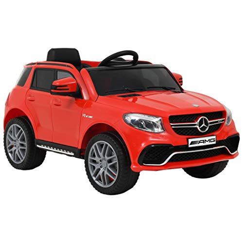 vidaXL Kinderauto mit Musik Licht USB MP3 FM-Radio 6 V 7 Ah Batterie Kinder Auto Elektroauto...