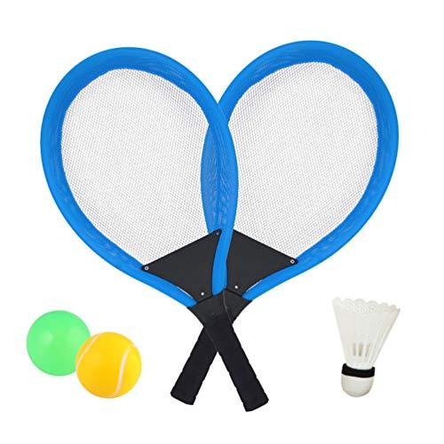 Dreamon Tennisschläger Racket Set mit Badminton bälle Softball Strandspielzeug im Freien für Kinder ab...