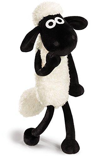NICI 39655 Shaun the Sheep Plüsch, weiß