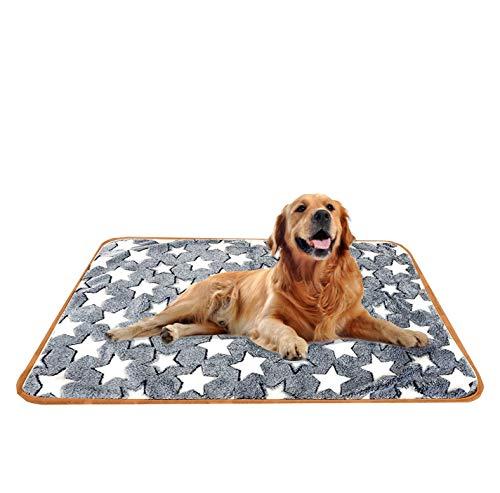 Hundedecke Kuscheldecke,Katzendecke mit Pfoten,Waschbare Hundedecke,Liegedecke für Hunde,Teppich...
