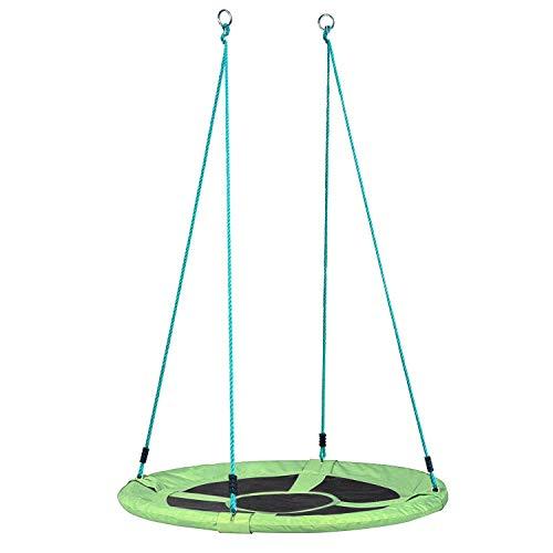 femor Nestschaukel 110 cm Belastbarkeit bis 120 kg Gartenschaukel Kinderschaukel, grün - Garten-Schaukel...
