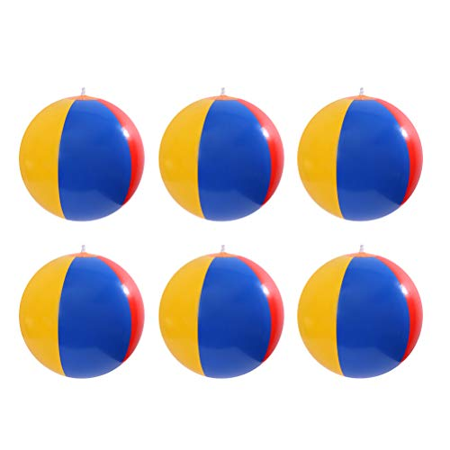 Aufblasbare Wasserbälle Strand-Ball für Schwimmbad Party Kinder Bälle Spielzeug für Sommer im Freien...