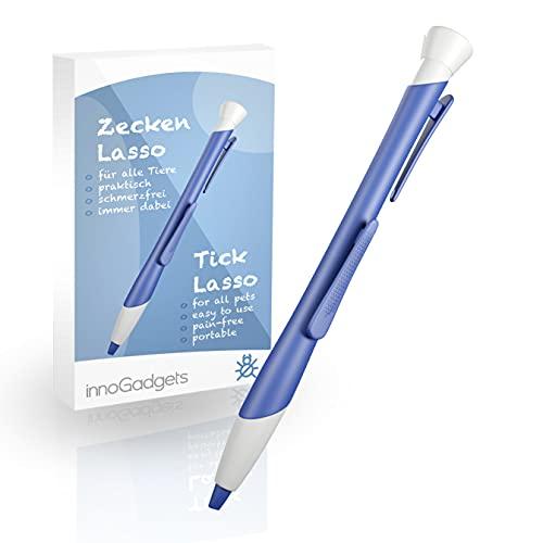 innoGadgets Zeckenlasso   Zecken schnell und einfach mit innovativer Schlinge entfernen   Zeckenschutz...