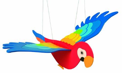 Goki 2089 - Papagei, Schwingtier