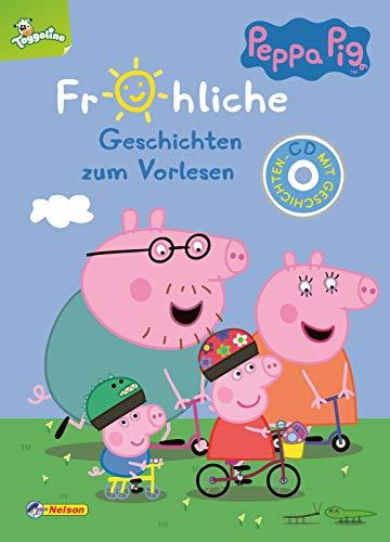 Peppa: Fröhliche Geschichten zum Vorlesen: Mit 9 neuen Vorlesegeschichten (Peppa Pig)
