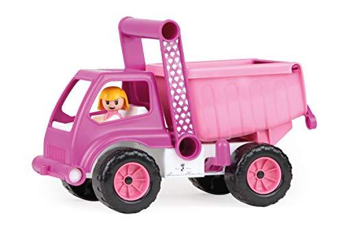 Lena 04101 - Prinzessin von Hohenzollern Kipper, rosa / pink, ca. 27 cm, Spielfahrzeug für Kinder ab 2...