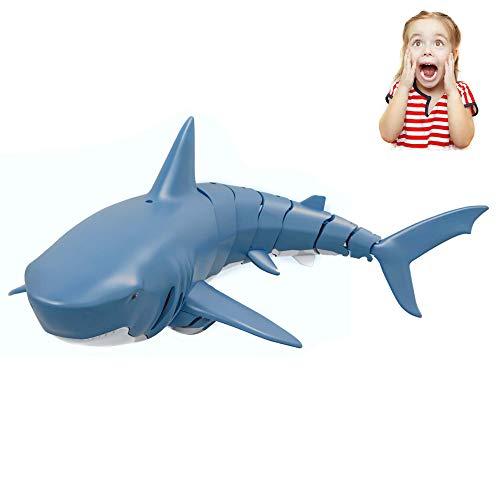 Himoto HSP RC ferngesteuertes Hai-Fisch Boot für Einsteiger und Fortgeschrittene, Shark-Modell inkl. 2.4...
