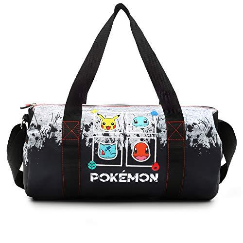 Pokemon Sporttasche Kinder, Reisetasche Kinder, Coole Sachen für Jungs und Mädchen