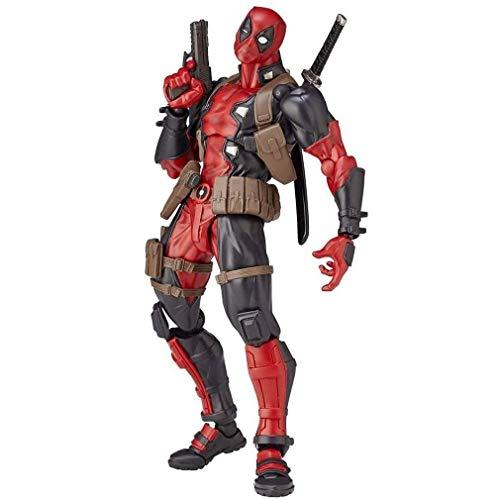 Action Figur Actionfiguren Deadpool Action Figure Superheld Film Anime PVC Figur Bewegliche Zeichen...