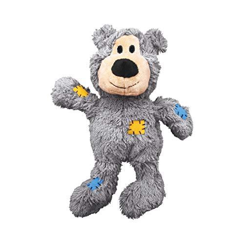 KONG – Wild Knots Bear – Innere Geknotete Seile und Minimale Füllung für Weniger Unordnung...