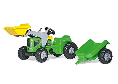 Rolly Toys Traktor rollyKiddy Futura (inkl. rollyKid Lader + Trailer, Heckkupplung, für Kinder von 2 ½...